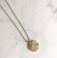 Load image into Gallery viewer, Green Eyed Snake Necklace