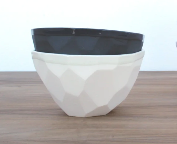 Geo Ice Cream Bowl