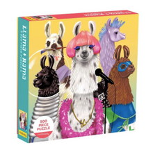 Load image into Gallery viewer, Llama Rama Puzzle- 500 pieces