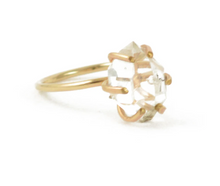Load image into Gallery viewer, Herkimer Diamond Ring size 8.5