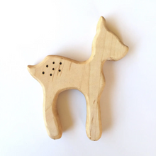 Load image into Gallery viewer, Deer Wooden Teether