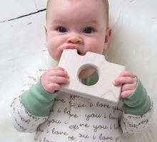 Load image into Gallery viewer, Camera Wooden Teether
