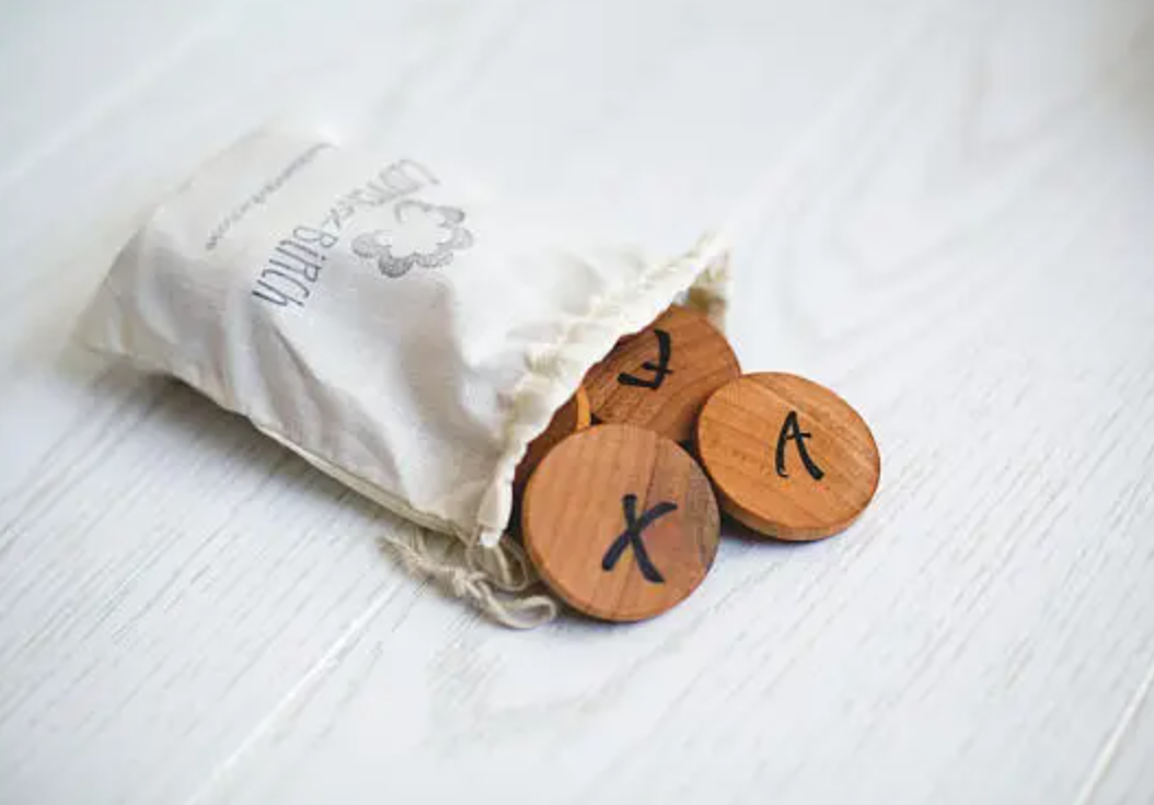 ABC Wooden Coin Set