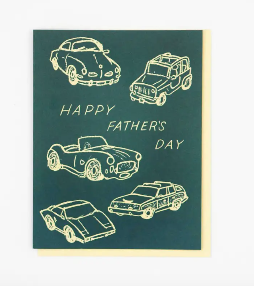Father's Day Car Card