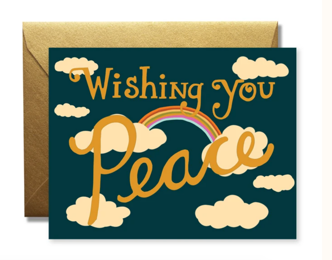 Wishing You Peace Card