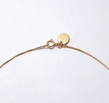 Load image into Gallery viewer, Gold Rose Bar Pendant Necklace