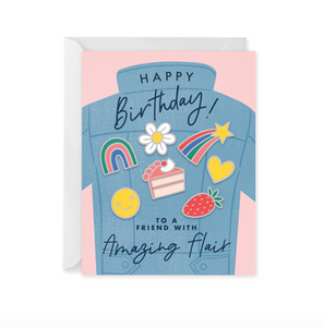 Birthday Flair Card