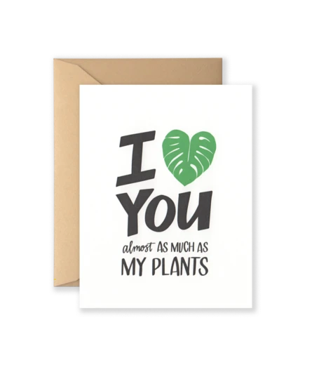 I Heart Plants Card