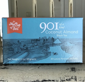 901 of a Kind- Coconut Almond 20 Tea Sachets