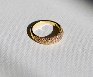 Pave Dome Ring- size 8