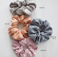Load image into Gallery viewer, satin scrunchies