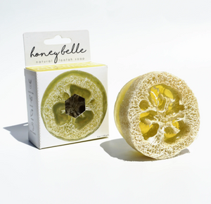 Exfoliating Loofah Soap - Green Tea Cucumber