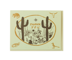 Sonoran Thank You Card Set of 8