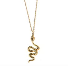 Load image into Gallery viewer, Midlength Cobra Necklace