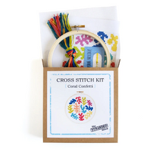 Load image into Gallery viewer, Coral Confetti - Cross Stitch Kit