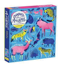 Load image into Gallery viewer, Mammals with Mohawks Puzzle - 500 piece