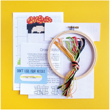 Load image into Gallery viewer, Frida - Cross Stitch Kit