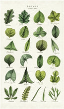 Load image into Gallery viewer, Tea Towel - Botany Leaves