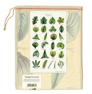 Tea Towel - Botany Leaves