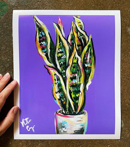plant prints by Natalie Cooper