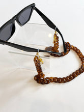 Load image into Gallery viewer, mask / glasses chain - large acrylic curb chain