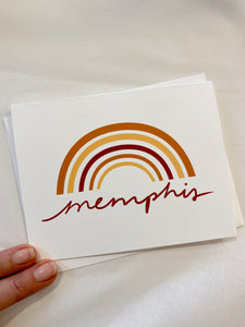Memphis notecards