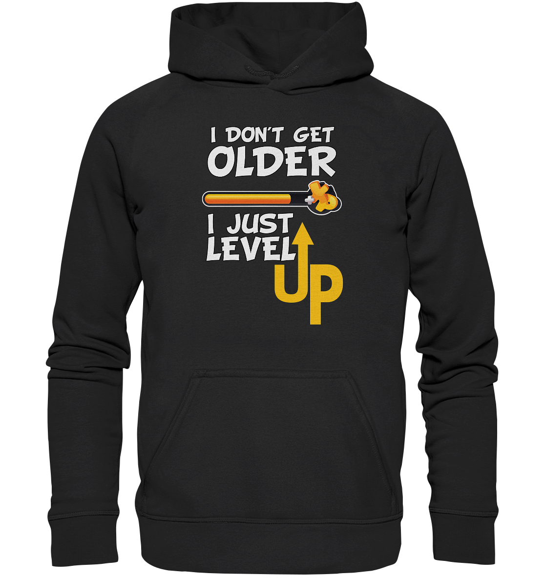 I Dont Get Older I Level UP Hoodie 3XL-5XL