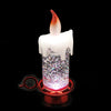 Image of Colour Changing LED Water Candle With Glitter 2