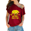 Image of MAMA BEAR Cross Shoulder T-shirt