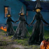 Image of 🔥50% Off🔥 Lighted Halloween Witch Decoration Set(BUY MORE SAVE MORE)