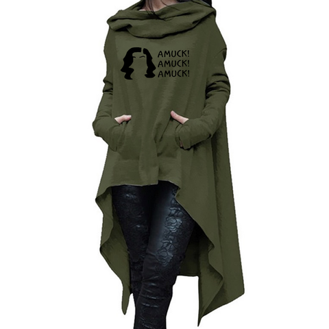 Amuck Long Hoodies