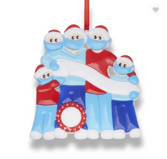 2020 Commemorative Christmas Tree Ornament Family