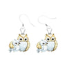 Image of Cute Keep Going Owl Crystal Ring