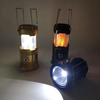 Image of 3-in-1 Camping Lantern,Portable Outdoor LED Flame Lantern Flashlight