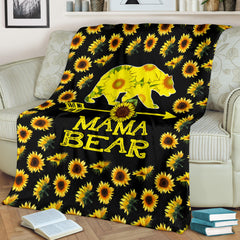 MAMA BEAR FLEECE BLANKET