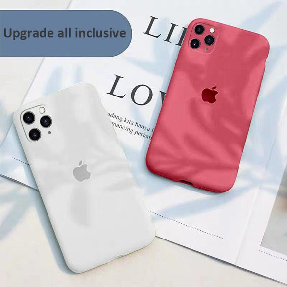 Upgrade Liquid Silicone Gel Rubber Full Body Shockproof Protective Cover for iPhone 11 Series
