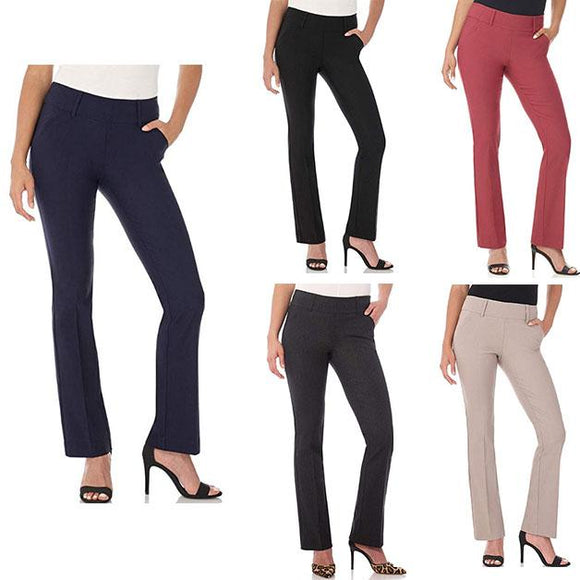 CYBER MONDAY SALES-Women's comfortable slim classic flared pants(buy 3 get free shipping)