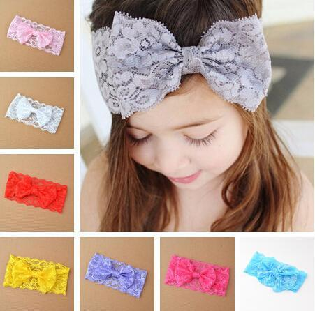 Lace Bow Knot Headband for Children