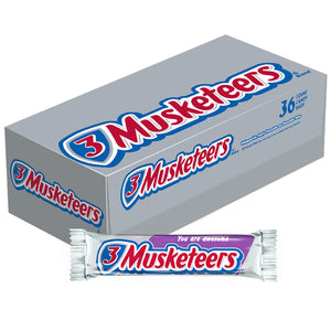 Candy 3 Musketeers  36ct