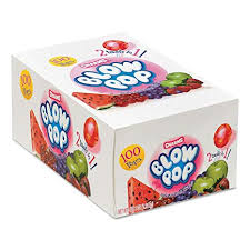 Candy Blow Pops Assorted  100ct