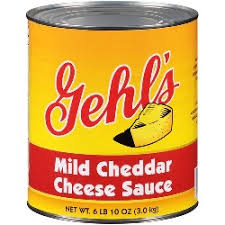 Cheese Sauce  6/#10 cans