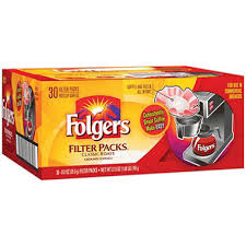 Coffee Folgers Filter PK  30ct