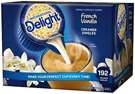 Creamer French Vanilla Individual cups  192ct