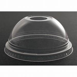Lid Clear Dome Fits 9,16oz Clear Cup