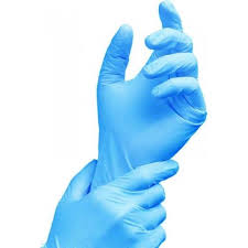 Gloves Nitrile Blue Powder Free   100ct