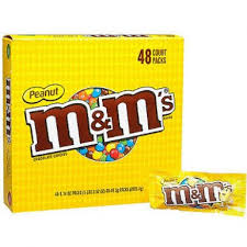 Candy M & M Peanut  48ct
