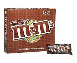 Candy M & M Plain  48ct