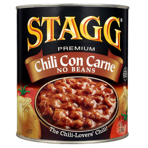 Chili no beans  6/#10 can