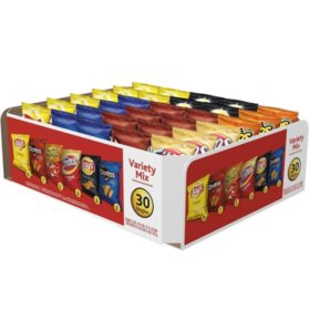 Chips Variety Box  30ct  Grab Bags