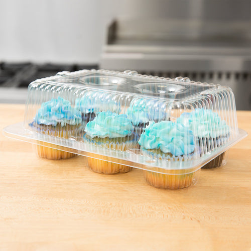 Cupcake / Muffin Clear 6 comp Container